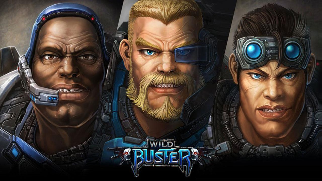 모바일게임MMO : WILD BUSTER